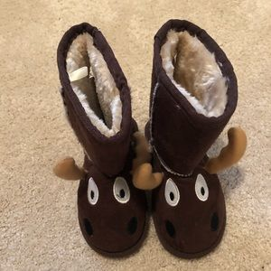 Lazy One Moose Slippers XS (6/7)
